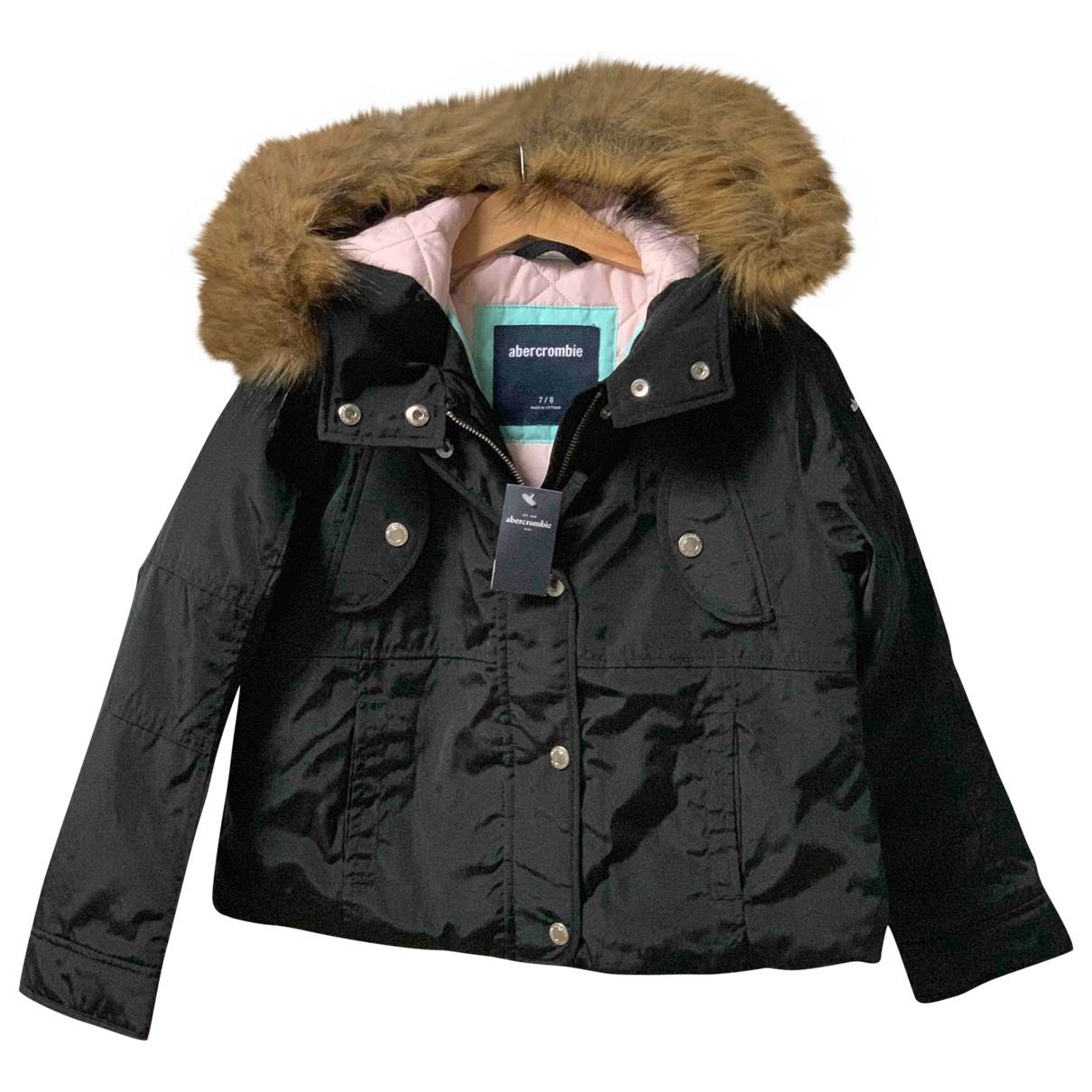 Abercrombie & Fitch - Blousons.Manteaux   pour enfant - noir