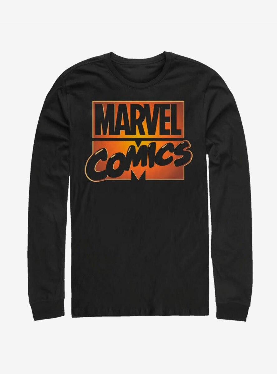 Marvel Comics Orange Glow Long-Sleeve T-Shirt