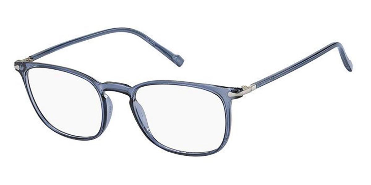 Pierre Cardin P.C. 6225 PJP Men's Glasses Blue Size 52 - Free Lenses - HSA/FSA Insurance - Blue Light Block Available
