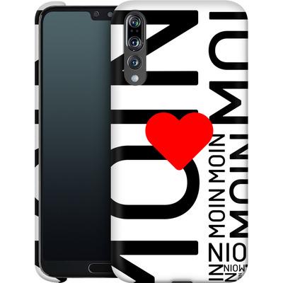 Huawei P20 Pro Smartphone Huelle - Moin Moin von caseable Designs