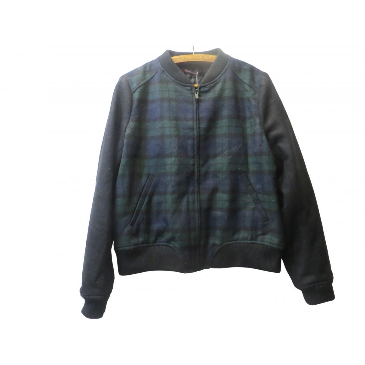 Comptoir Des Cotonniers \N Green Wool jacket for Women 42 FR