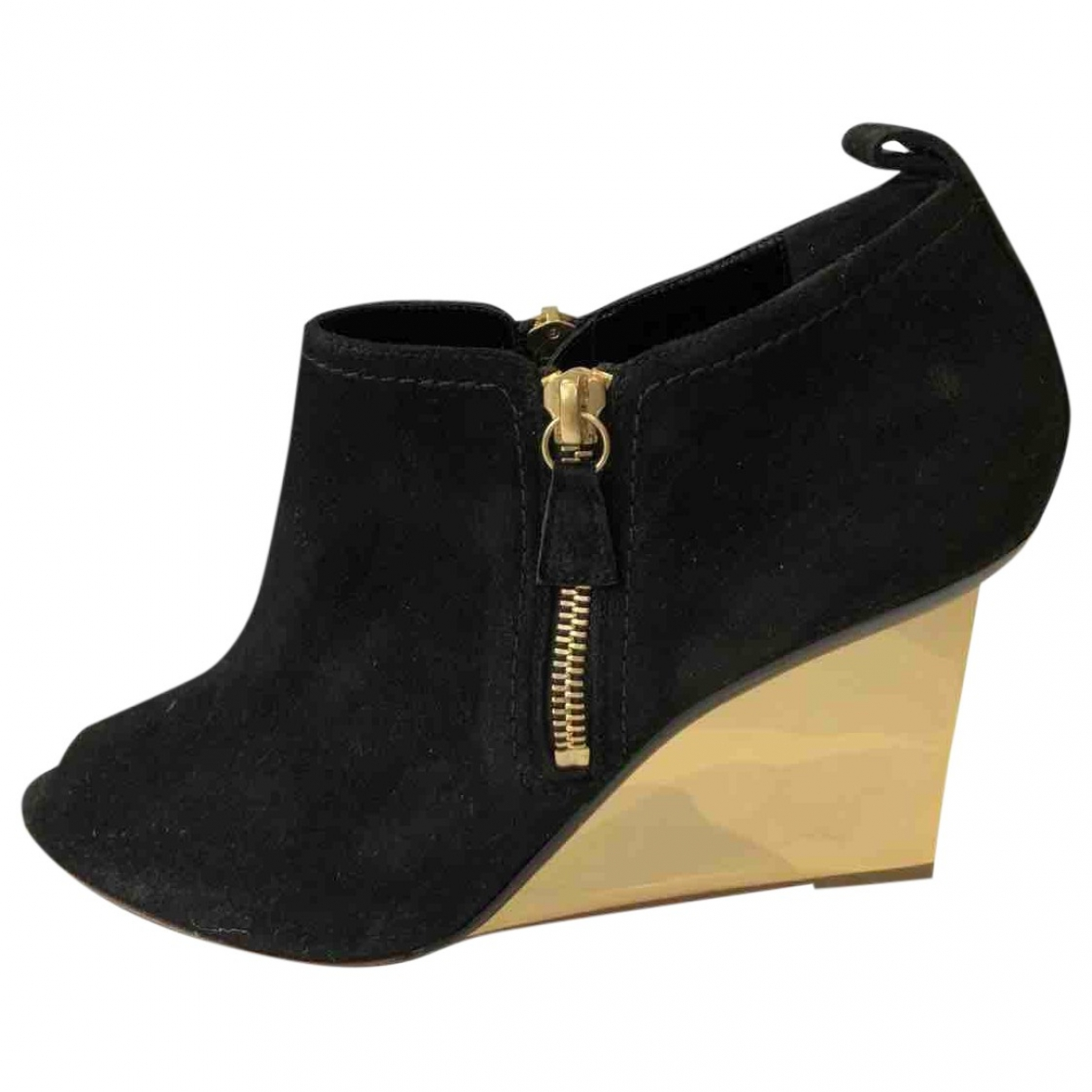 Nicholas Kirkwood \N Black Suede Boots for Women 40 EU
