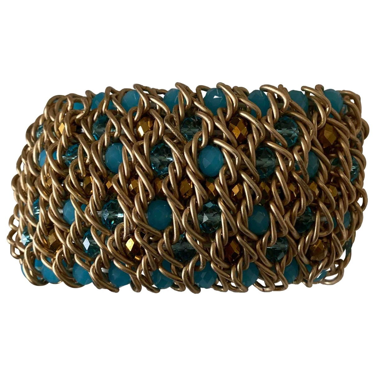 Non Signé / Unsigned \N Turquoise Chain bracelet for Women \N