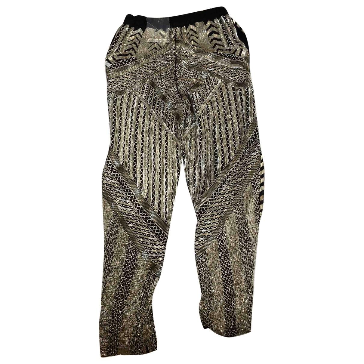 Pantalon recto de Seda Emilio Pucci