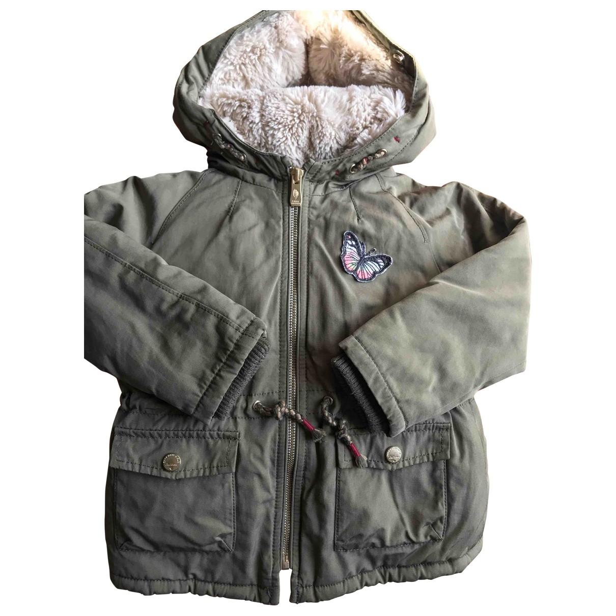 Zara - Blousons.Manteaux   pour enfant - vert