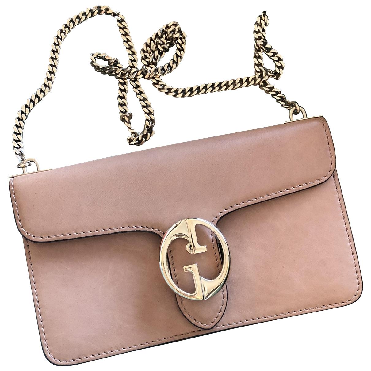 Gucci 1973 Beige Leather handbag for Women \N