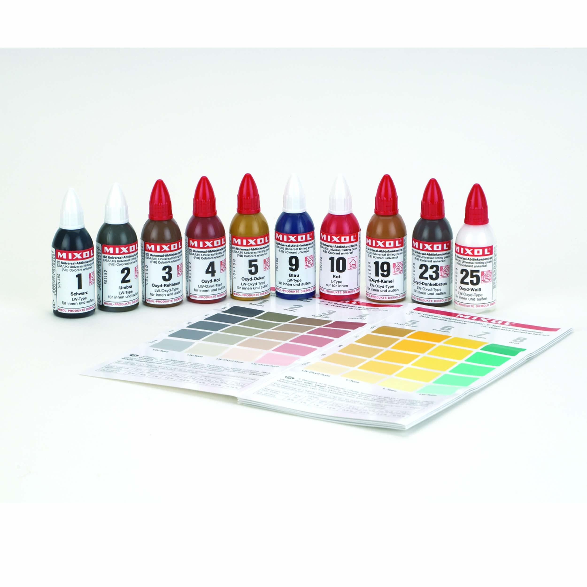 Universal Pigment Woodworker's Tone Kit 10 pc