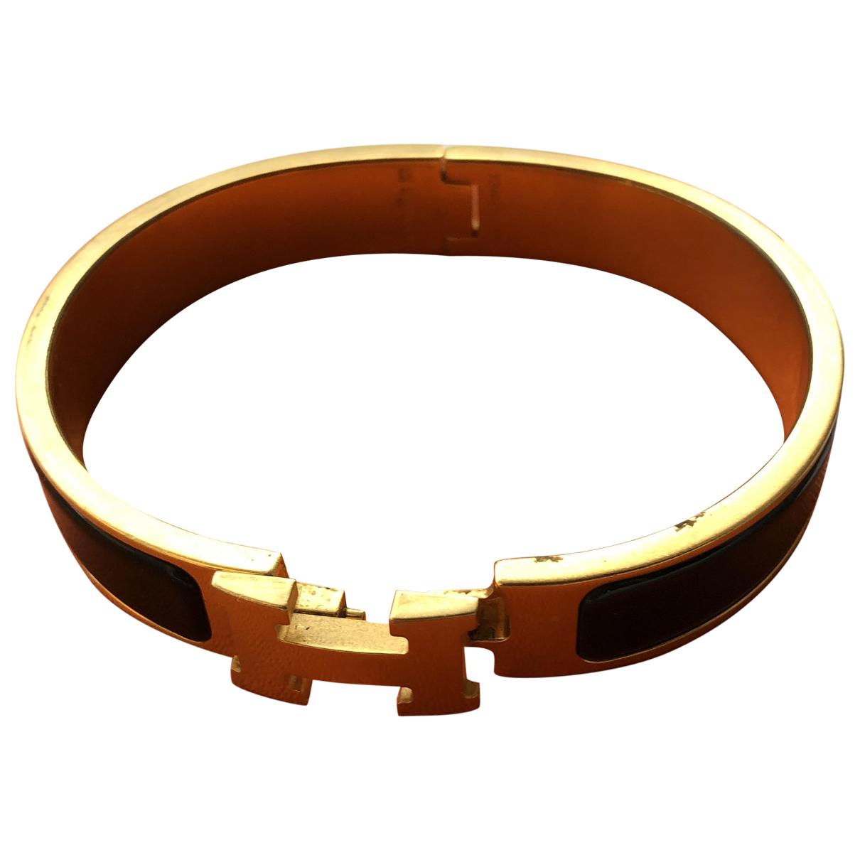 Hermes - Bracelet   pour femme en metal - noir