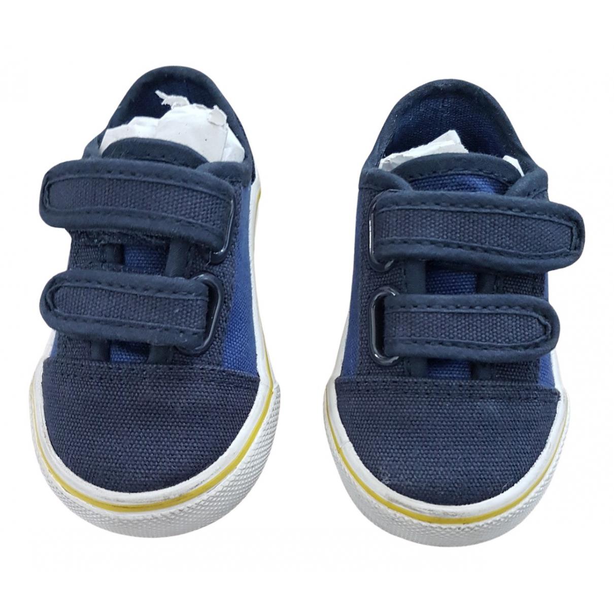 Boss - Baskets   pour enfant en toile - bleu