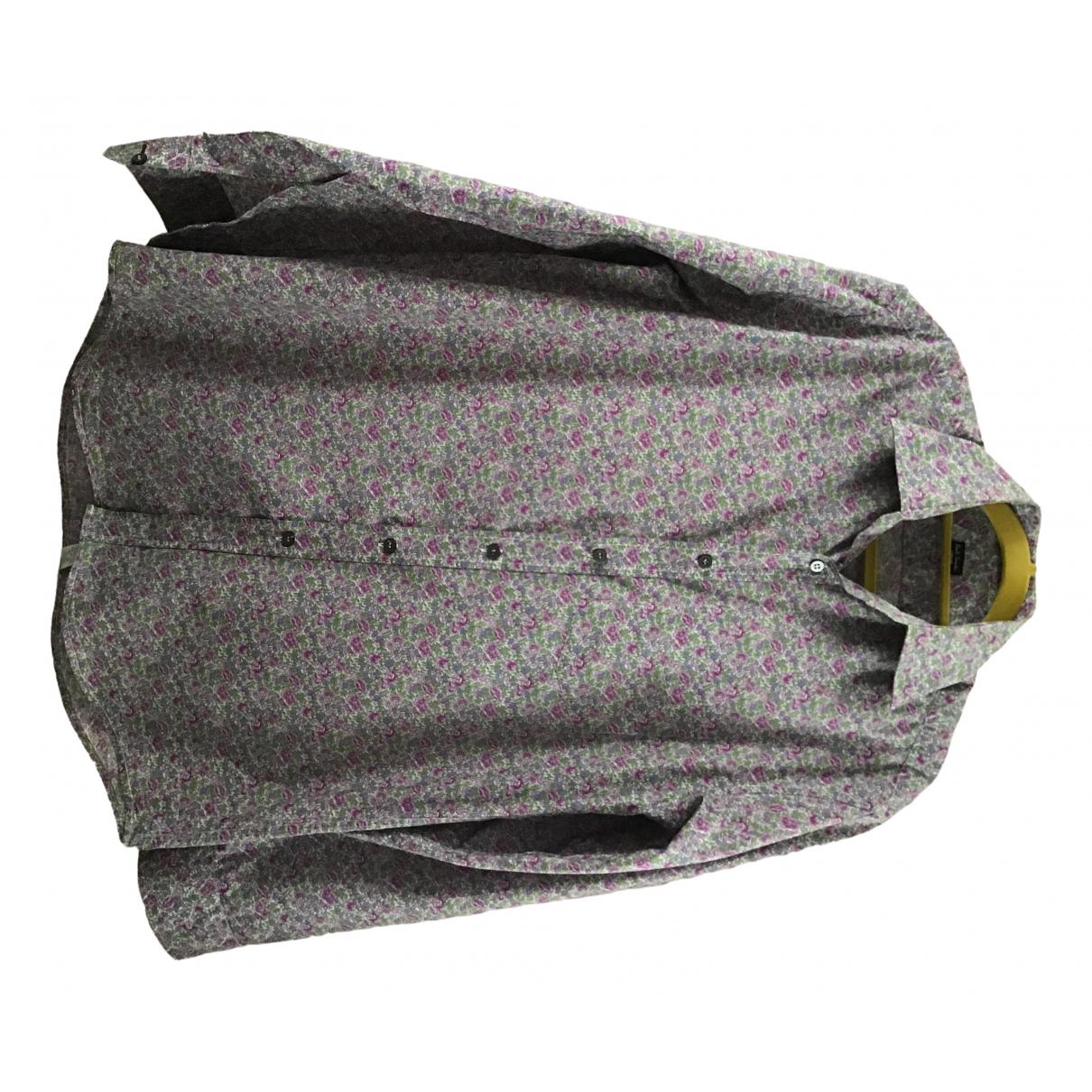 Paul Smith \N Multicolour Cotton Shirts for Men 15 UK - US (tour de cou / collar)