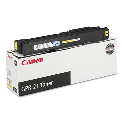 Canon GPR21Y 0259B001AA Original Yellow Toner Cartridge