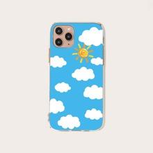 Cloud Print iPhone Case