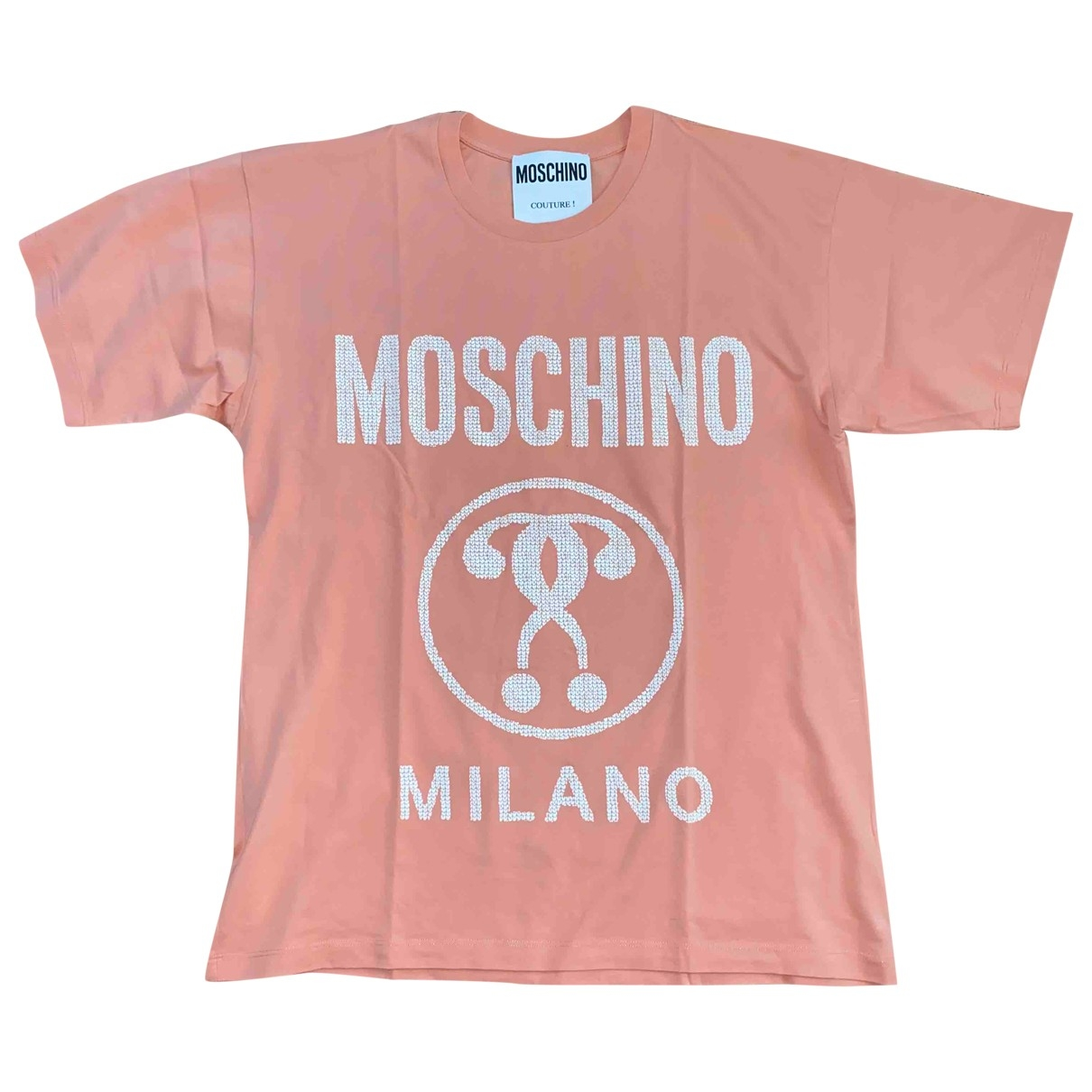 Moschino \N Top in  Rosa Baumwolle