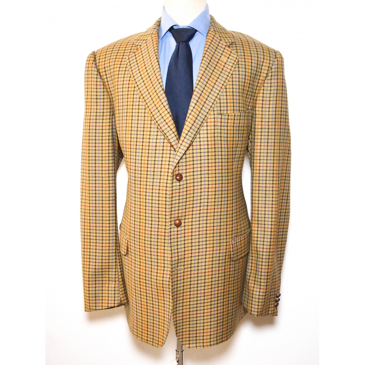 Burberry \N Jacke in  Beige Wolle