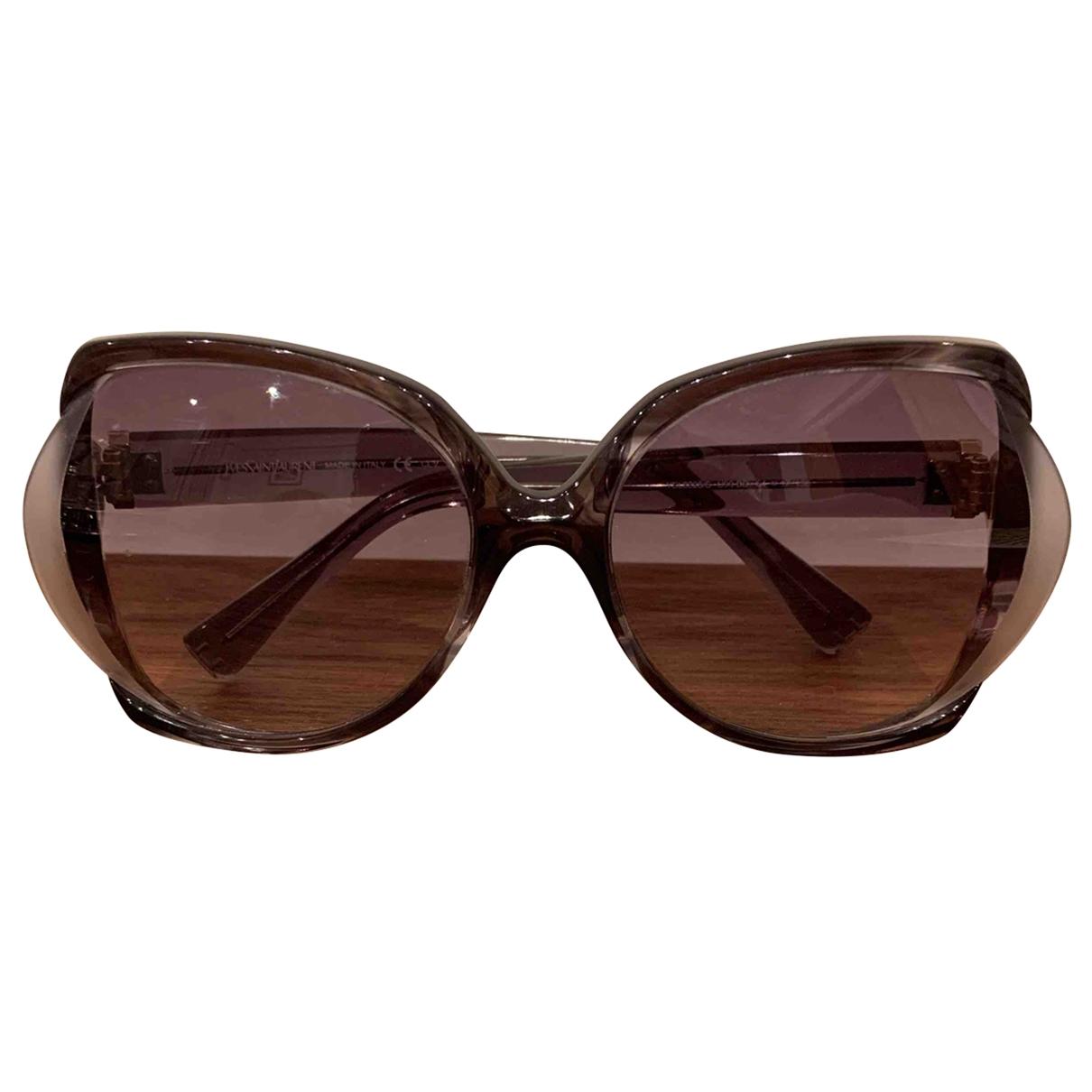 Yves Saint Laurent \N Grey Sunglasses for Women \N