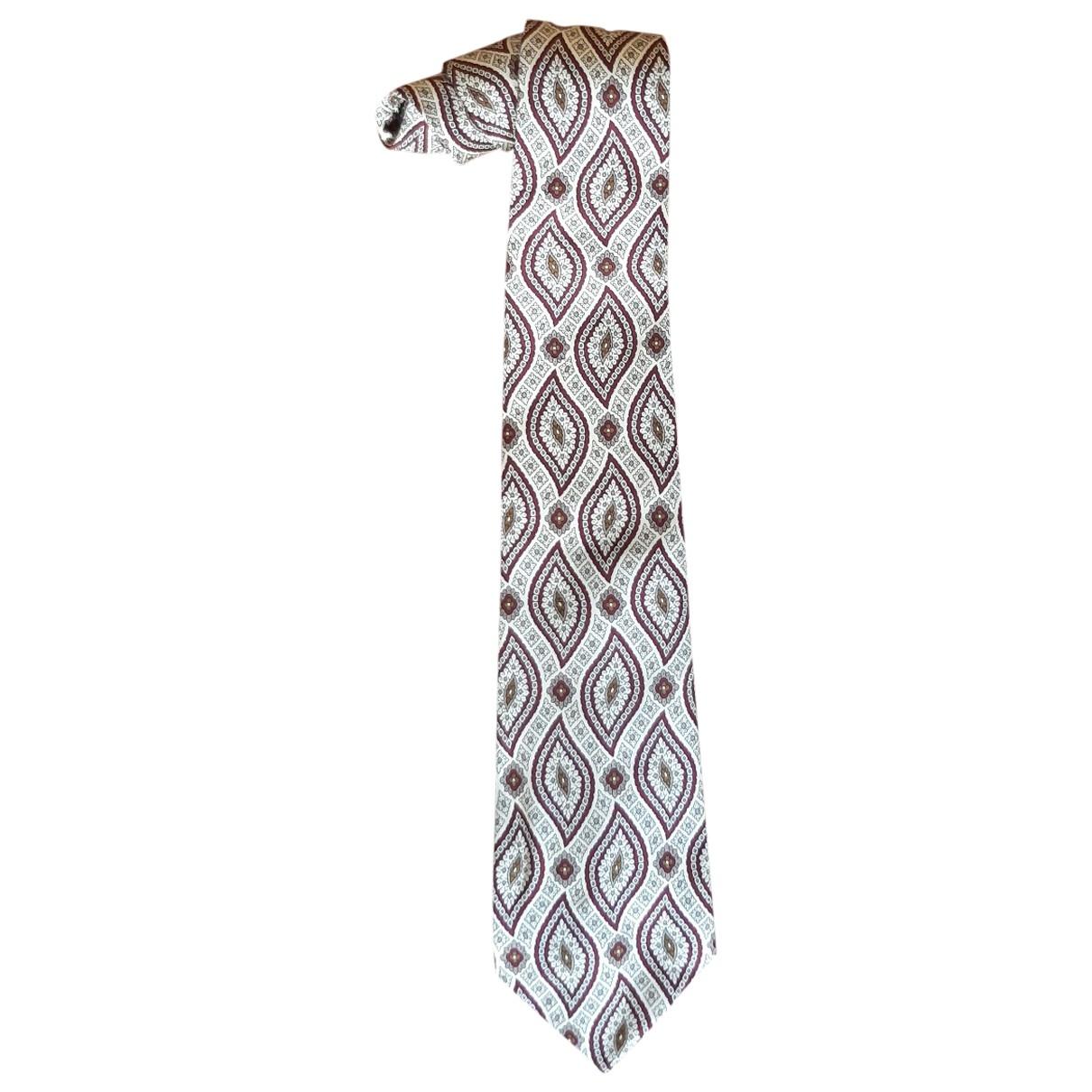 Polo Ralph Lauren - Cravates   pour homme en soie - beige