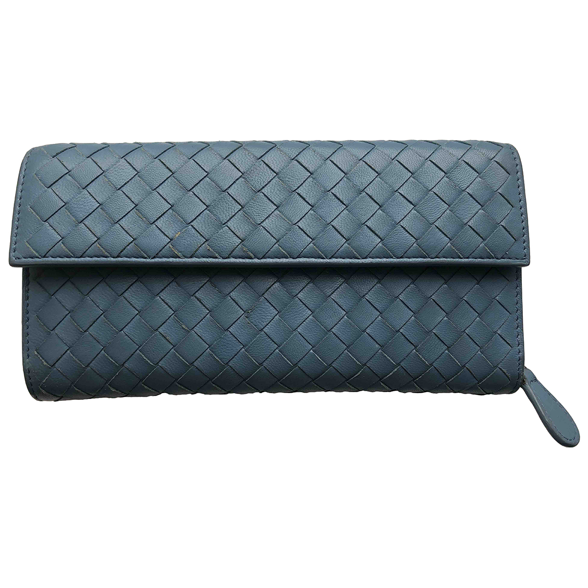 Bottega Veneta - Petite maroquinerie   pour femme en cuir - bleu