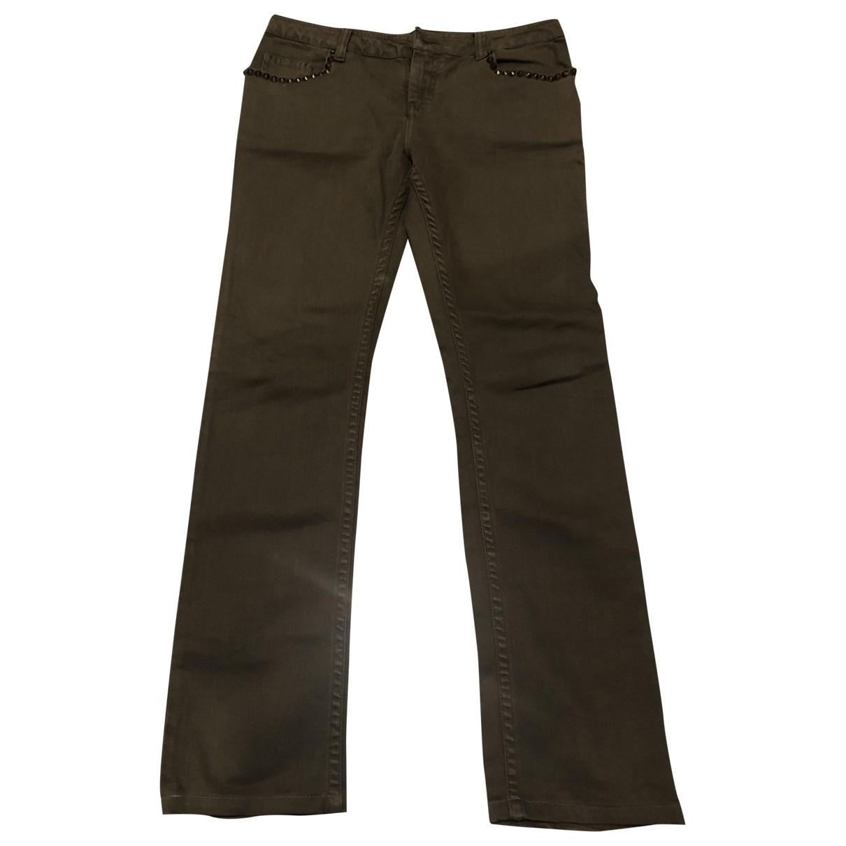 Zadig & Voltaire \N Khaki Cotton Jeans for Women 25 US