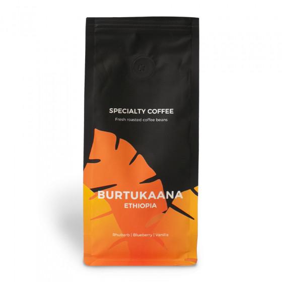 """Spezialitaetenkaffee """"Ethiopia Burtukaana"""", 250 g ganze Bohne"""