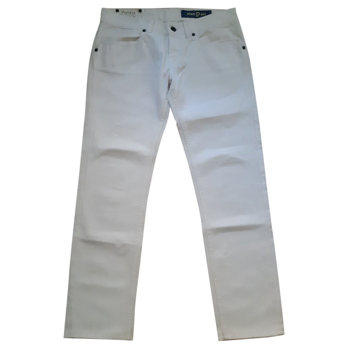 Dondup \N White Cotton Jeans for Women 28 US