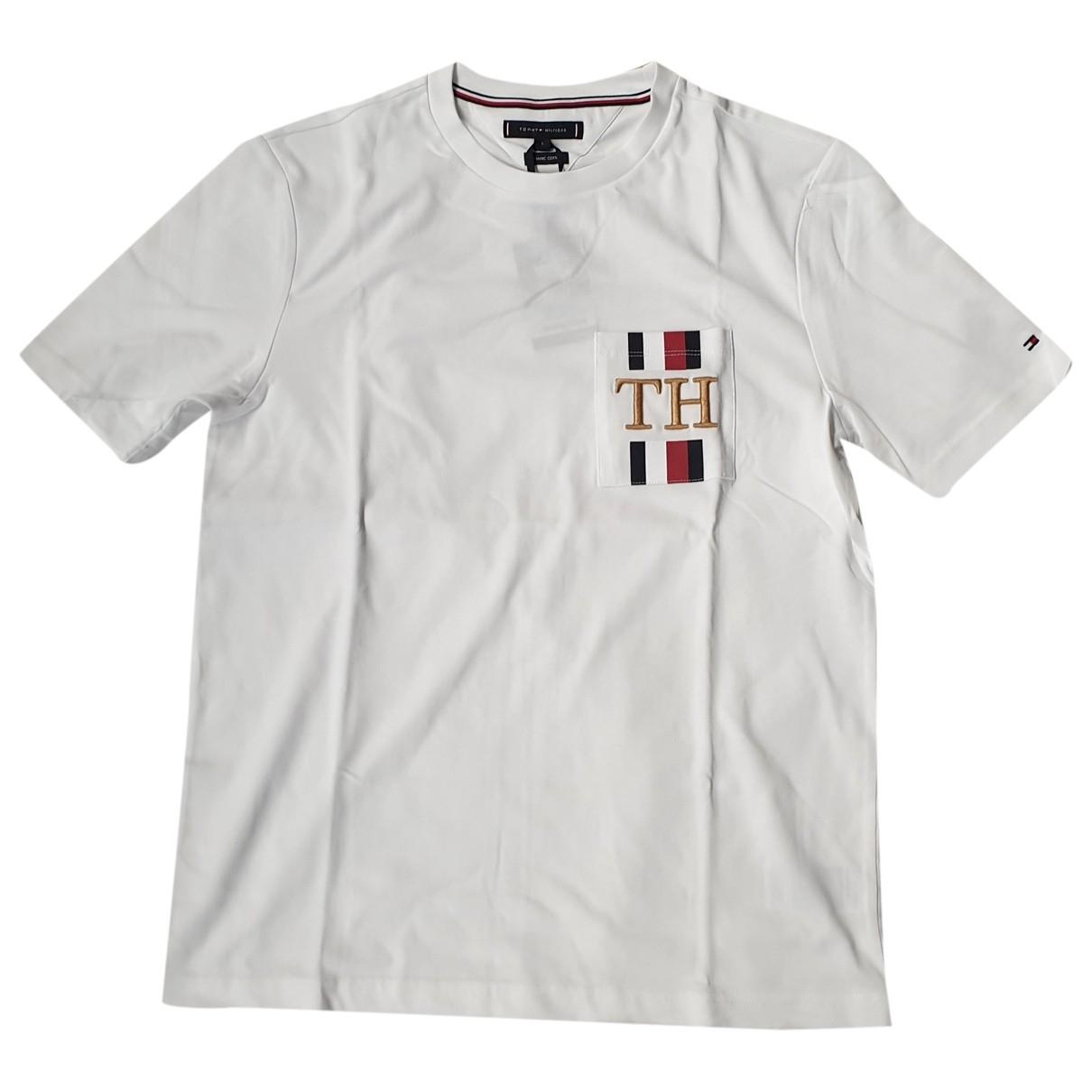Tommy Hilfiger \N White Cotton T-shirts for Men L International