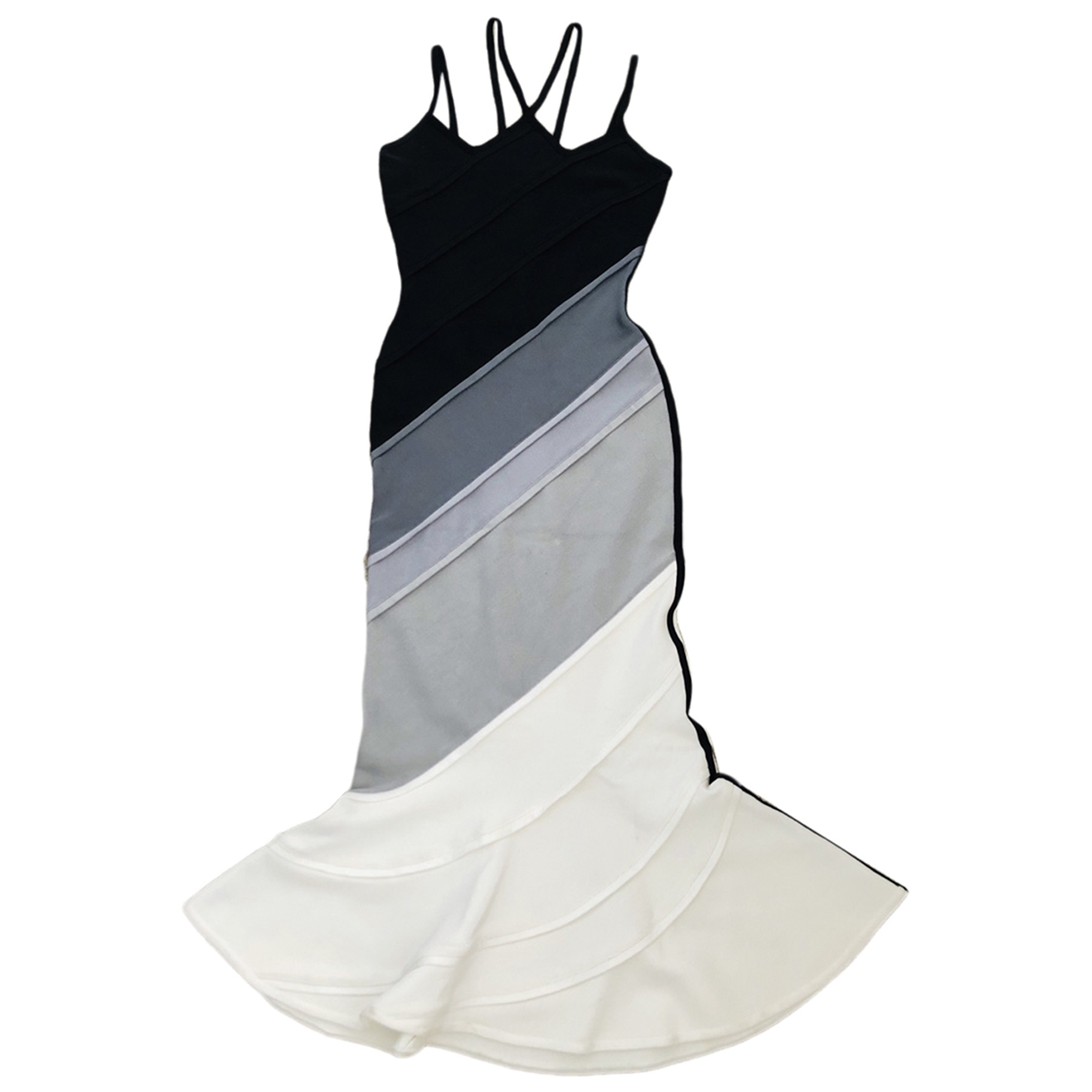 David Koma \N Kleid in  Schwarz Viskose