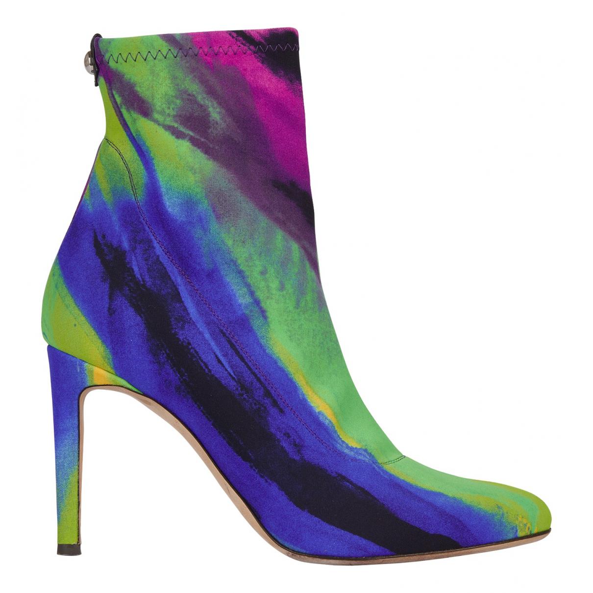 Giuseppe Zanotti - Boots   pour femme en cuir - multicolore