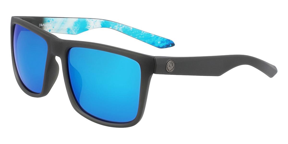 Dragon Alliance DR MERIDIEN LL ION 030 Mens Sunglasses Grey Size 57