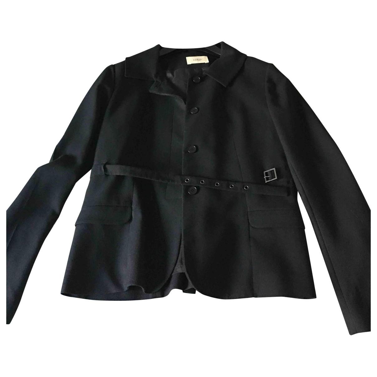 Ba&sh - Veste   pour femme en laine - noir