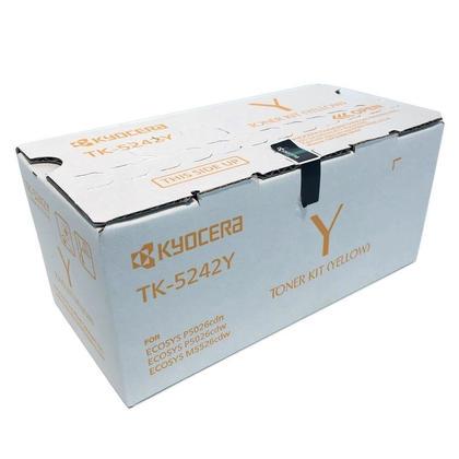 Kyocera Mita TK-5242Y 1T02R7AUS0 cartouche de toner original jaune