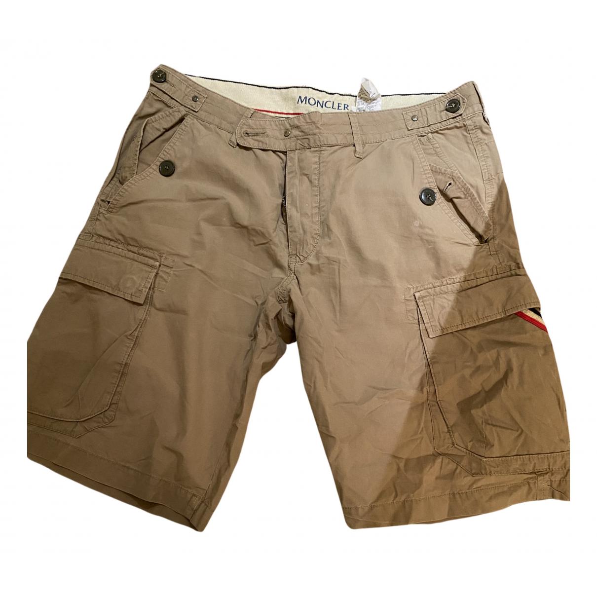 Moncler \N Shorts in  Beige Baumwolle