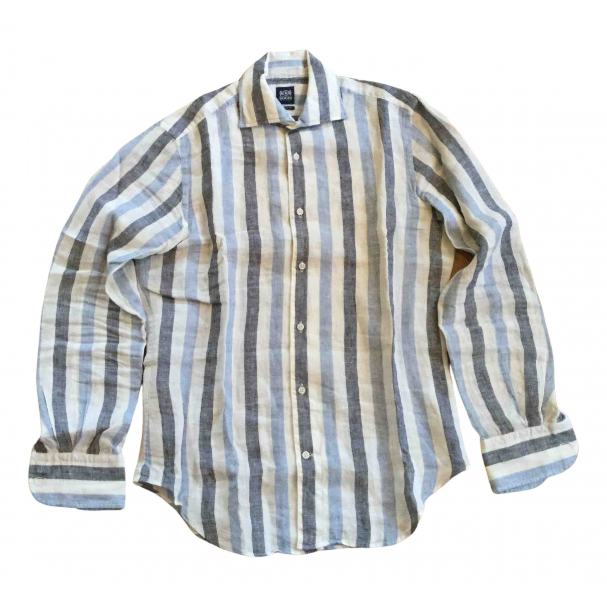 Boggi N Multicolour Linen Shirts for Men S International