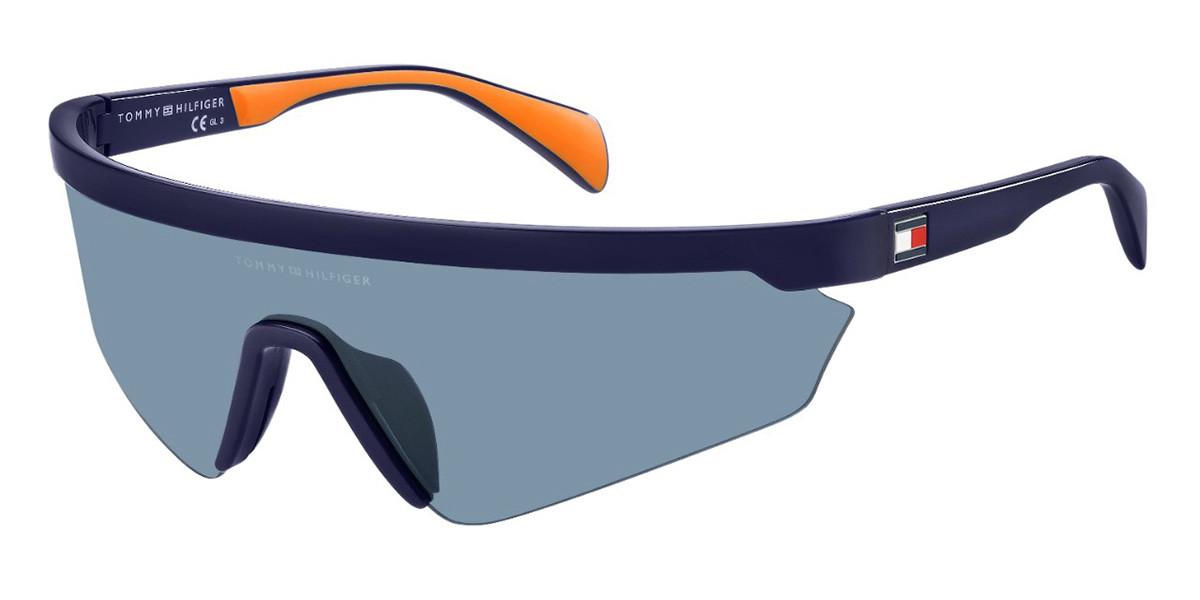 Tommy Hilfiger TH 1666/S PJP/KU Men's Sunglasses Blue Size 99