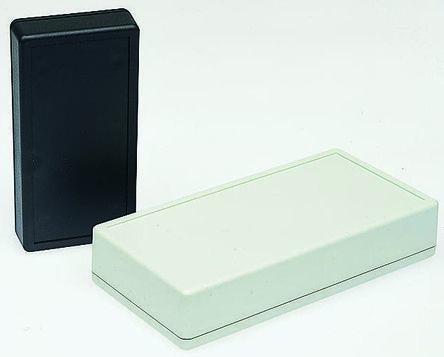 Hammond 1599, Grey ABS Enclosure, IP54, 130 x 65 x 25mm