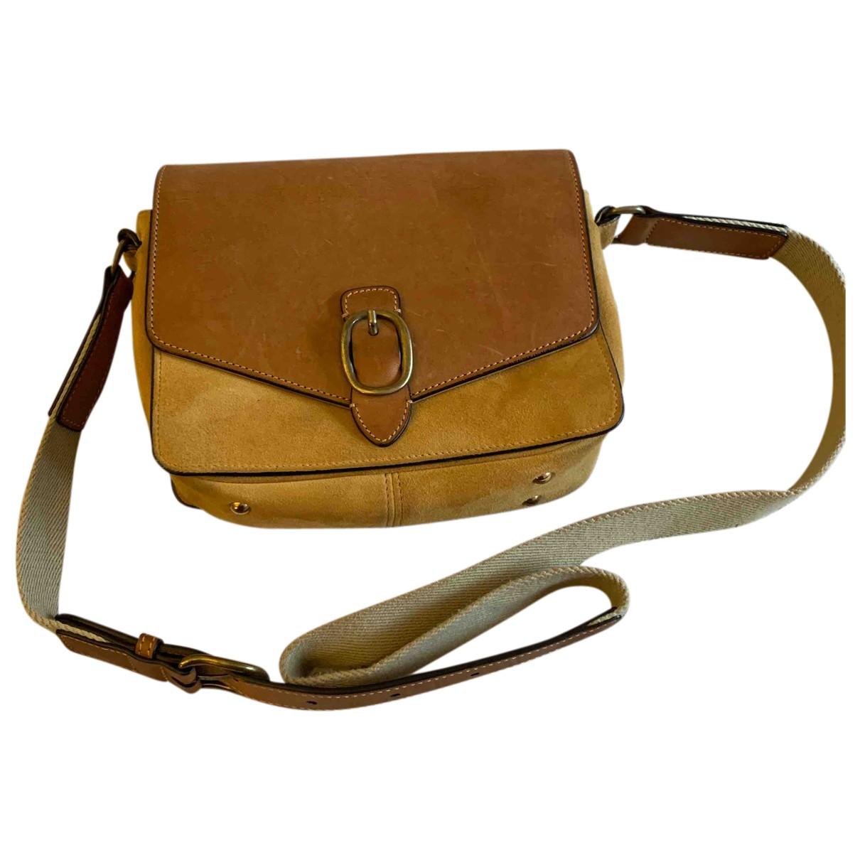 Isabel Marant N Yellow Leather handbag for Women N