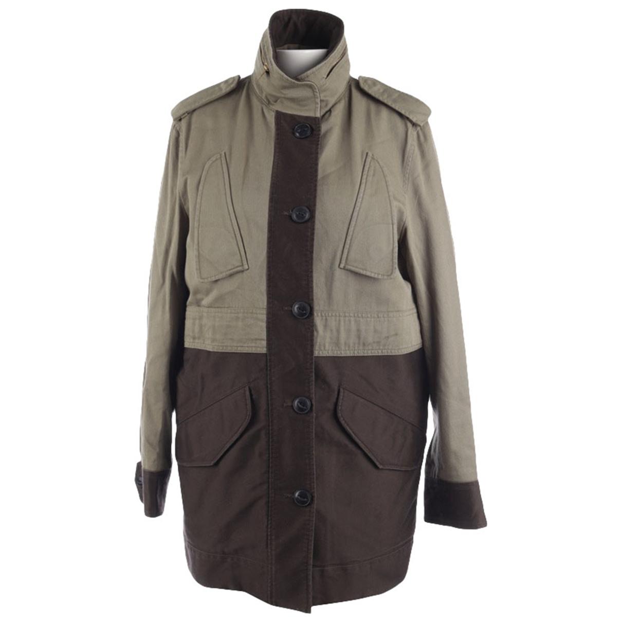 Rag & Bone \N Green Cotton jacket for Women 34 FR