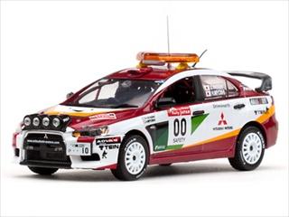 Mitsubishi Lancer Evolution X 00 2008 Rally Japan Course Car H.Miyoshi / S.Hayashi 1/43 Diecast Model Car by Vitesse