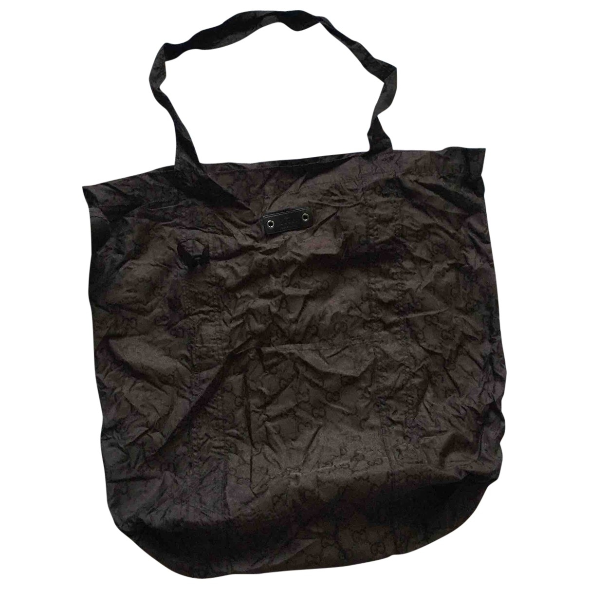 Gucci \N Handtasche in  Braun Polyester
