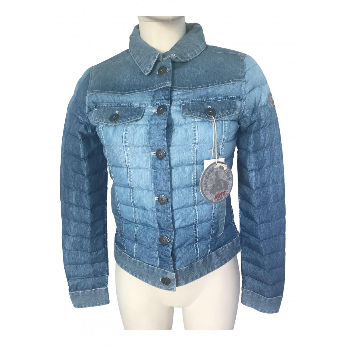 Jott \N Jacke in  Blau Baumwolle
