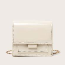 Mini Flap Chain Crossbody Bag