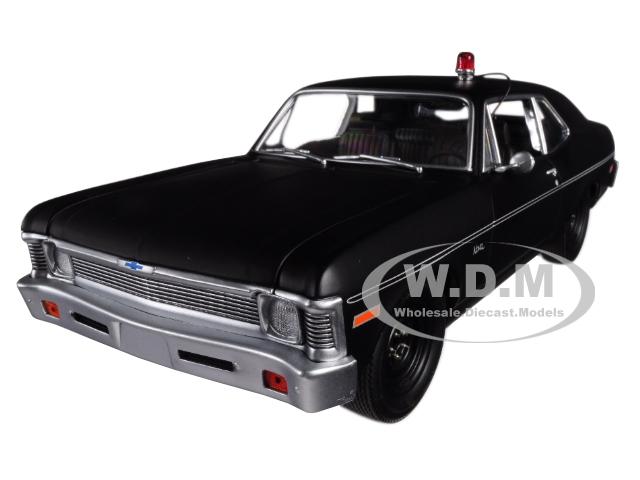 1971 Chevrolet Nova Police Matte Black