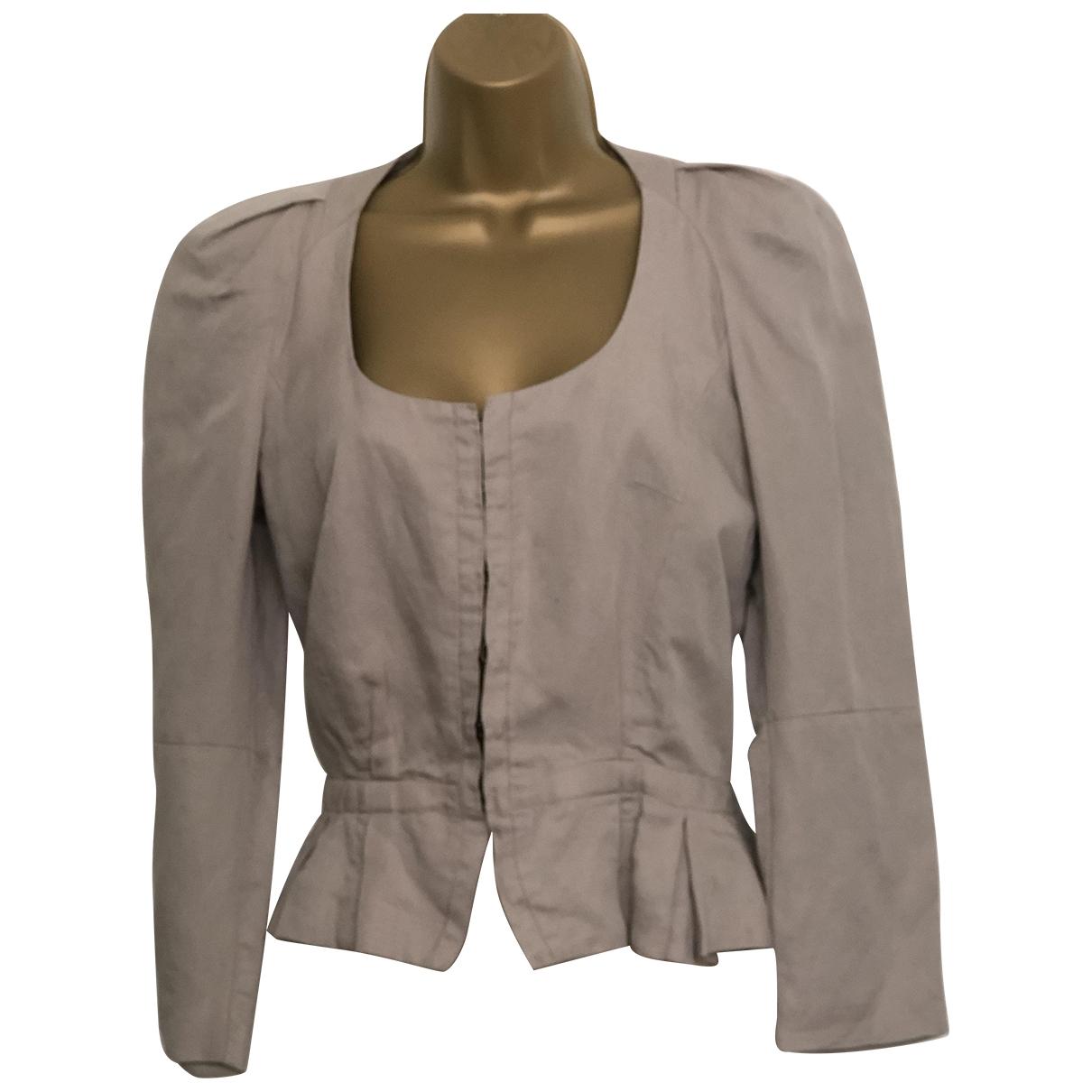 Isabel Marant Etoile \N Beige Linen jacket for Women S International