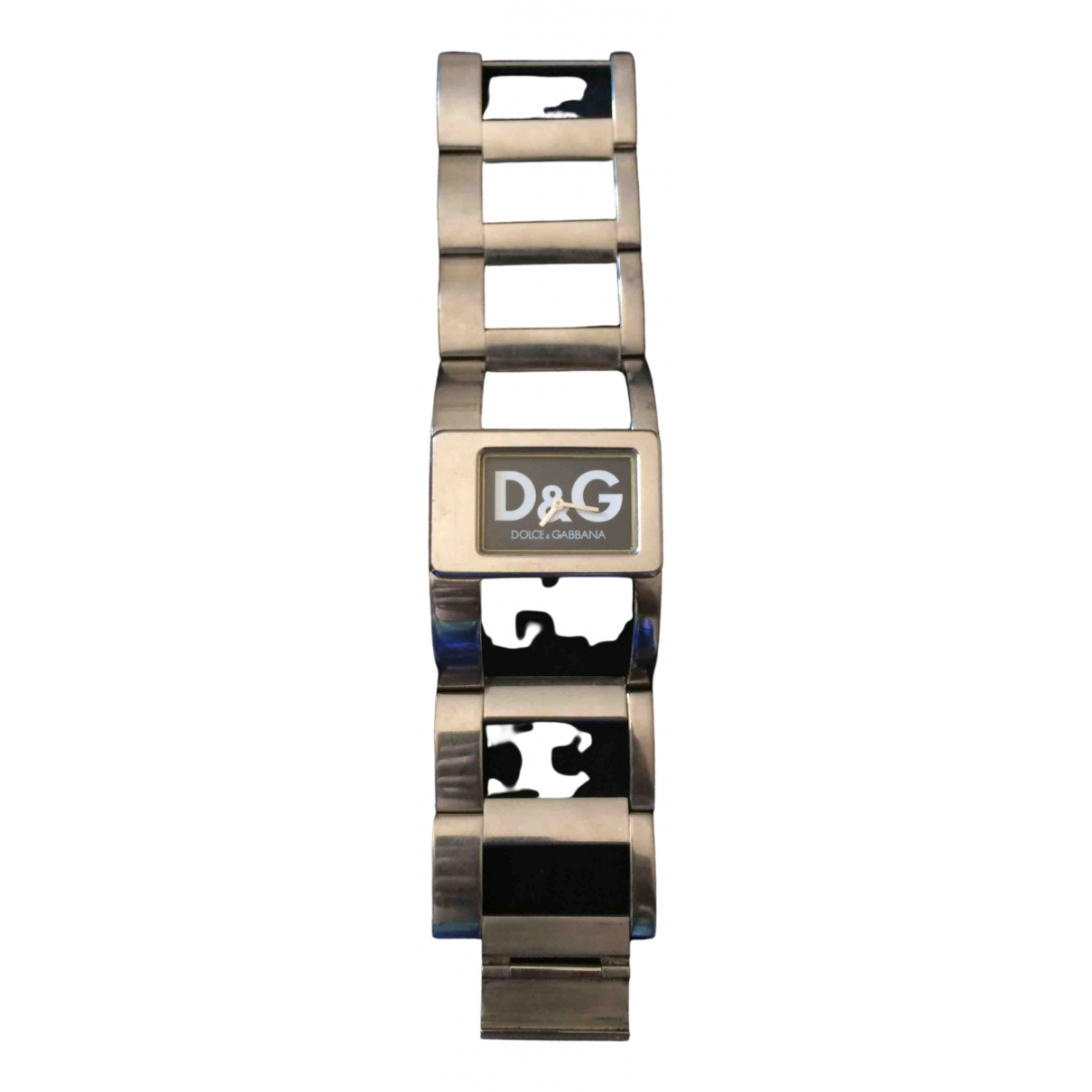 D&g \N Uhr in  Silber Stahl