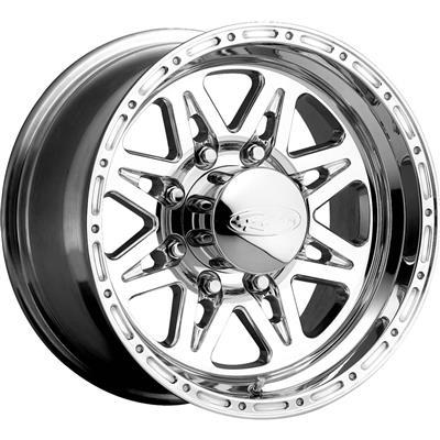 Raceline Wheels Renegade 8, 16x8 with 8x170 Bolt Pattern - Polished - 888-68081
