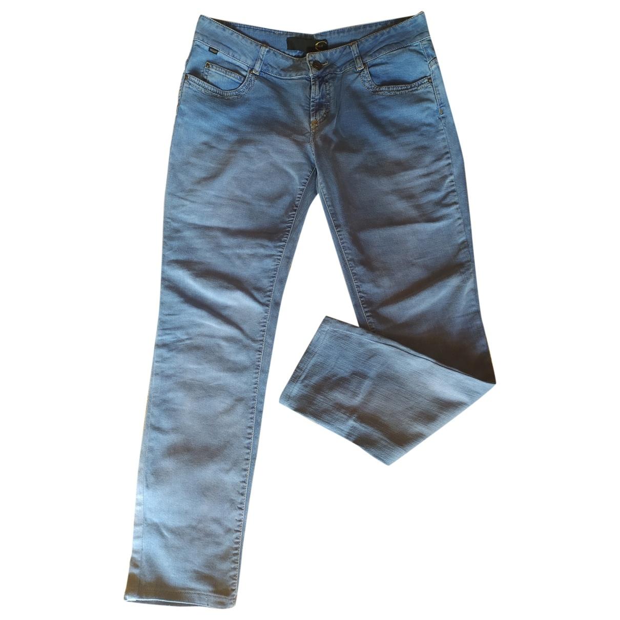 Just Cavalli \N Blue Denim - Jeans Jeans for Women 31 US