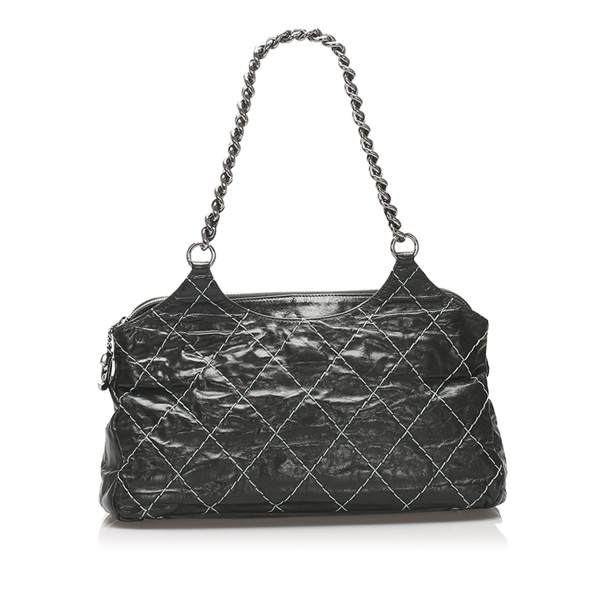 Chanel N Black Leather handbag for Women N