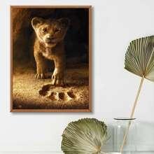 Lion Print DIY Diamond Painting