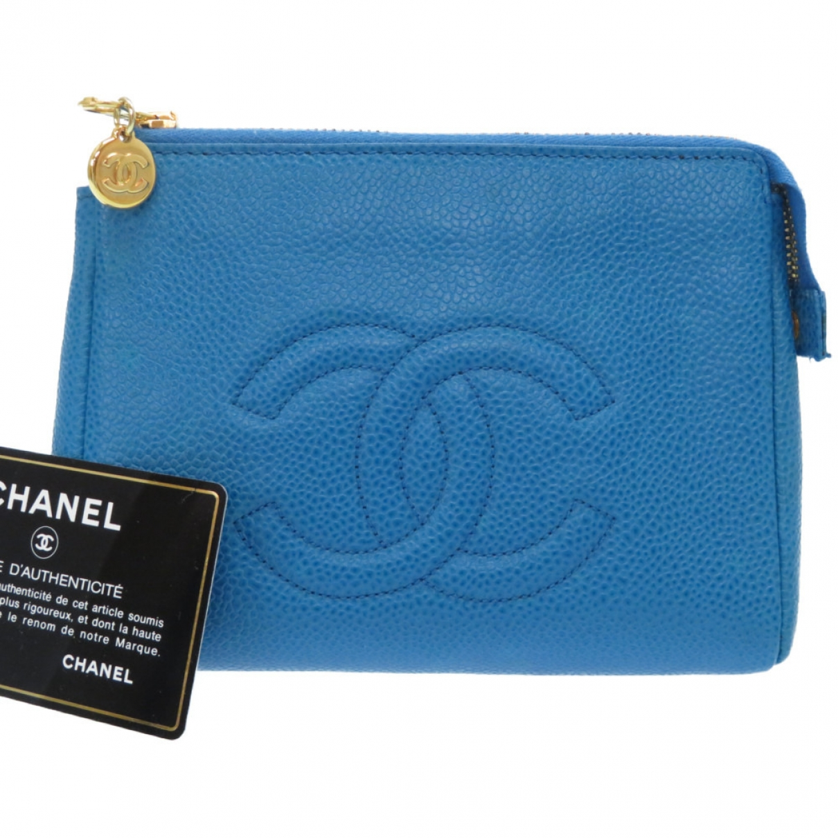 Chanel \N Blue Leather Purses, wallet & cases for Women \N