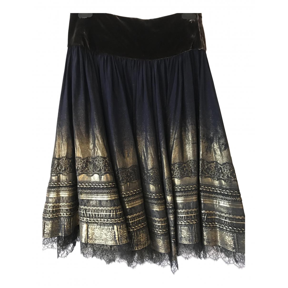 Jean Paul Gaultier - Jupe   pour femme en soie - multicolore