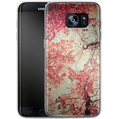 Samsung Galaxy S7 Edge Silikon Handyhuelle - Autumn Inkblot von Joy StClaire